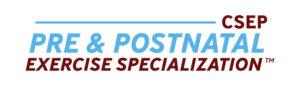 CSEP Pre+Postnatal Exercise Specialization logo