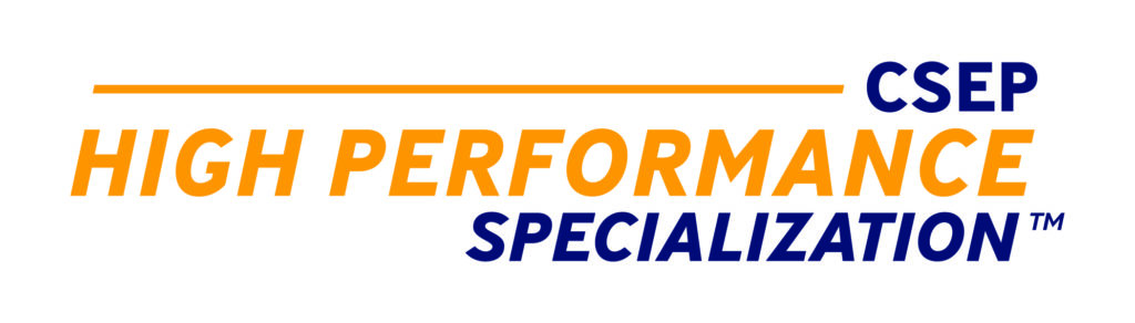 CSEP High Performance Specialization logo